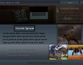 Nro 16 kilpailuun Design a webpage! käyttäjältä KendijevFan