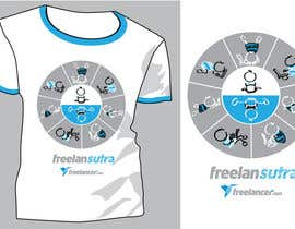 #121 para T-shirt Re-design for Freelancer.com por violapicola