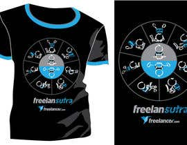 #122 para T-shirt Re-design for Freelancer.com por violapicola
