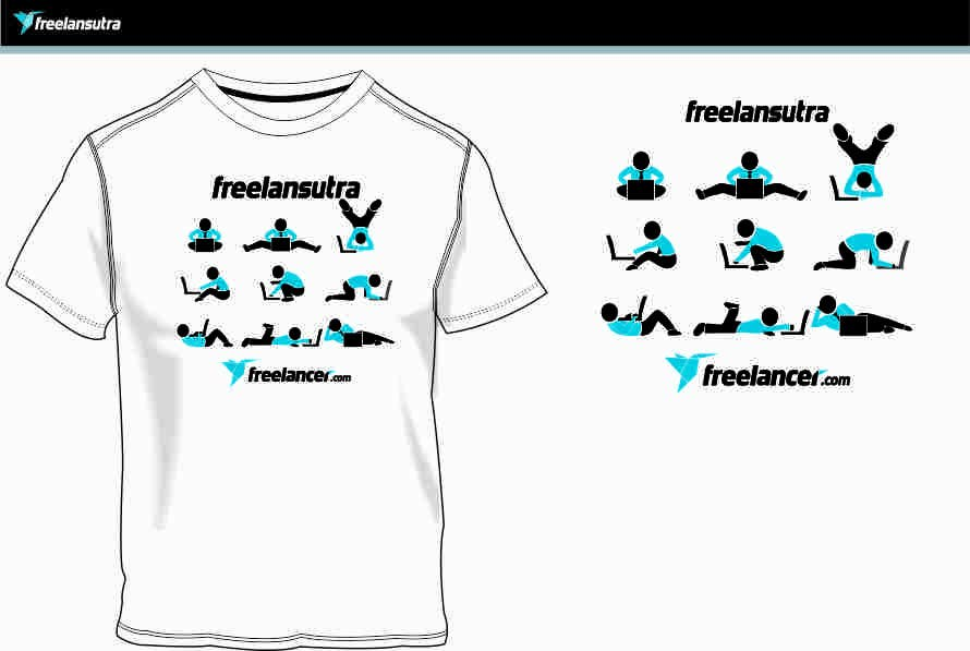 Proposta in Concorso #                                        93                                      per                                         T-shirt Re-design for Freelancer.com