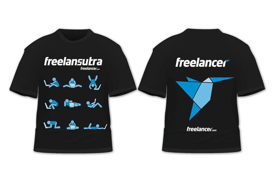 Inscrição nº                                         61                                      do Concurso para                                         T-shirt Re-design for Freelancer.com