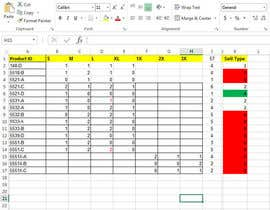 frelancworkr tarafından Do some Excel Work for Company to manage inventory -- 2 için no 4