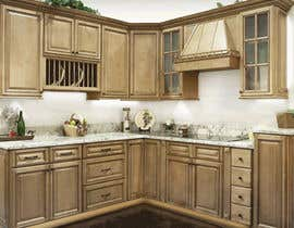 #21 for Adding lighting effects to kitchen cabinets af vntkshp