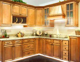 #11 for Adding lighting effects to kitchen cabinets af QuickPhoto