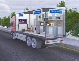 #40 for 3D Design - Truck Branding af fadi92