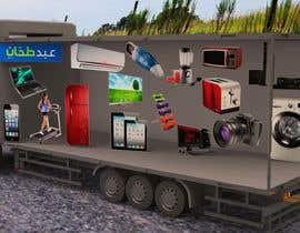 Nro 31 kilpailuun 3D Design - Truck Branding käyttäjältä PraveshGEU