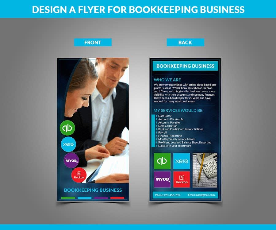 Inscrição nº 8 do Concurso para Design a Flyer for Bookkeeping Business