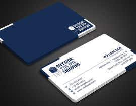#49 for Business Card for Shipping Store/Company (Logo Supplied) by fibr