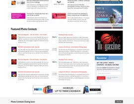 massoftware tarafından Design a Homepage mockup for our existing website WITHOUT changing the layout [PSD ONLY] için no 57