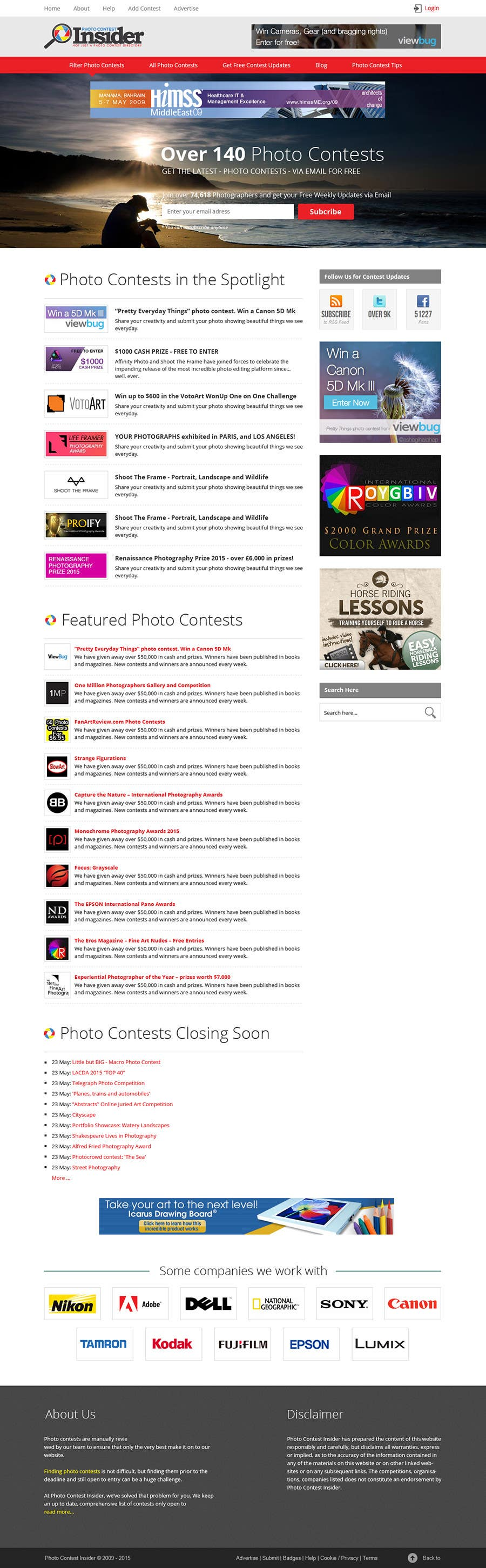 Penyertaan Peraduan #43 untuk Design a Homepage mockup for our existing website WITHOUT changing the layout [PSD ONLY]