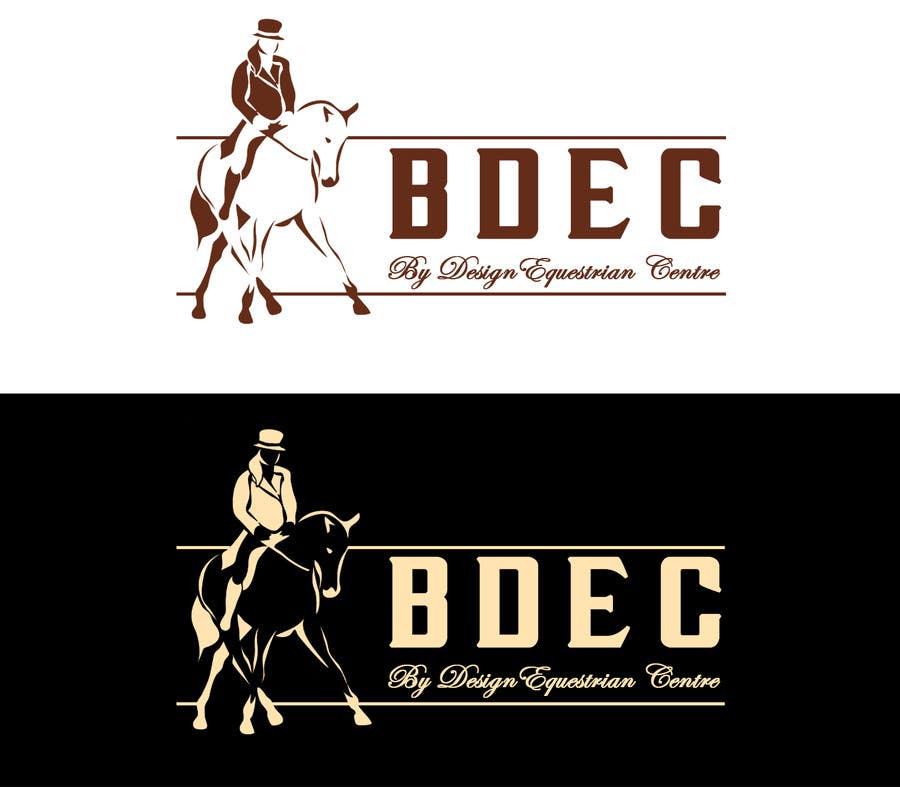 Kilpailutyö #48 kilpailussa Design a Logo for our Equestrian Centre