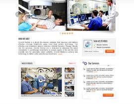 #48 untuk Design a Website Mockup for OncoSil Medical Ltd oleh shybkar