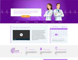 #24 untuk Design a Website Mockup for OncoSil Medical Ltd oleh jeransl