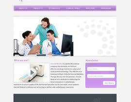#54 untuk Design a Website Mockup for OncoSil Medical Ltd oleh ygugutkov