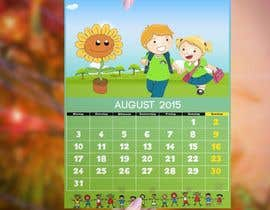 #18 para Design a voucher calendar for a 1st grade of primary school por stylishwork