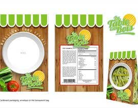 #8 untuk Design a logo and packaging background image for a wholesome food company oleh YONWORKS