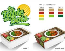 #31 untuk Design a logo and packaging background image for a wholesome food company oleh YONWORKS