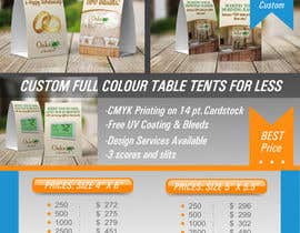 #12 for Design Email Promotion - Table Tents by Dixy89