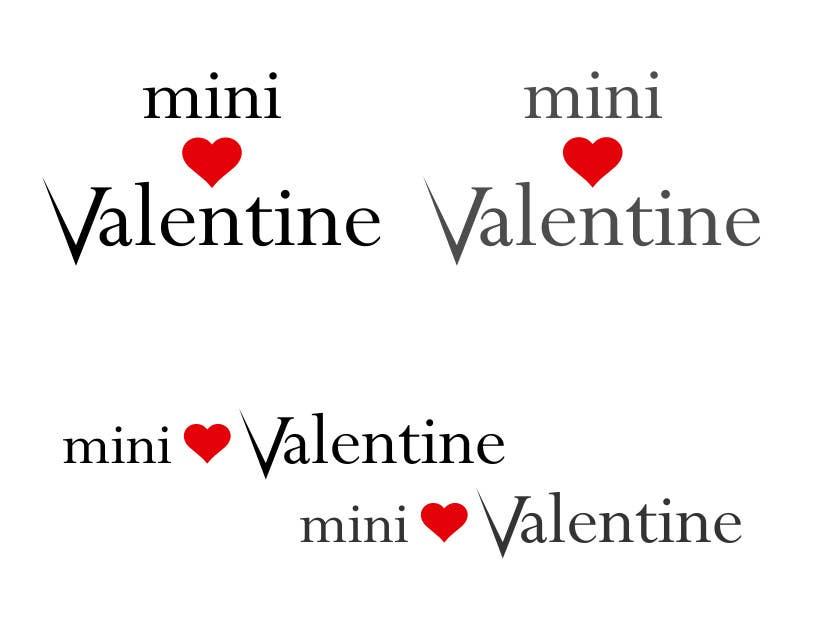 Penyertaan Peraduan #32 untuk Design a Logo for Mini Valentine