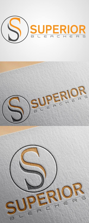 Penyertaan Peraduan #52 untuk Design a Logo for Superior Bleachers