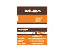 #16 para Design Back of Business Cards with design concept provided por djohnna