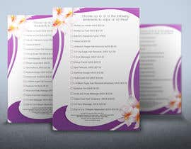 nº 7 pour Design a Flyer, Email and Printer Friendly for Monthy Voucher Special to Beauty clientele. par rogeriolmarcos