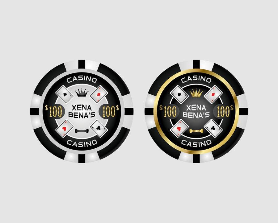 Kilpailutyö #14 kilpailussa Design Poker Chips for my home Casino