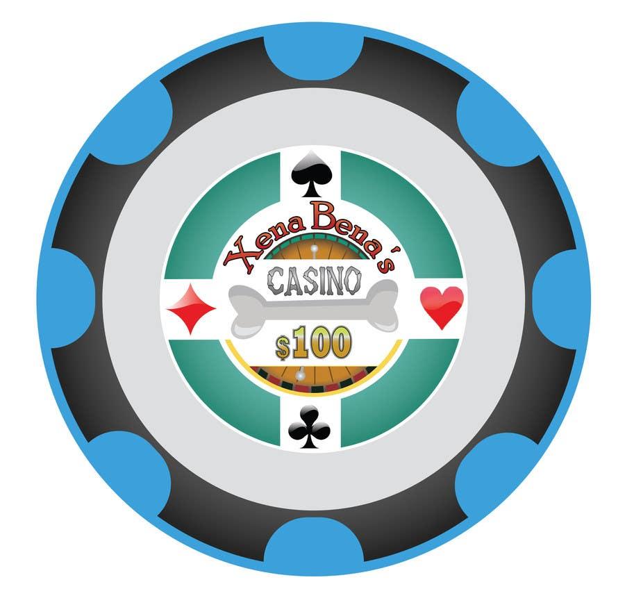 Kilpailutyö #13 kilpailussa Design Poker Chips for my home Casino