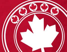 #24 for Canada Themed Vertical Banner af teAmGrafic