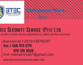 #8 for Design a letterhead and business cards for a security company by TJerin