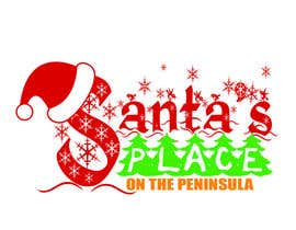 #27 para Design a Logo for  Santa's Place on the Peninsula por pikoylee