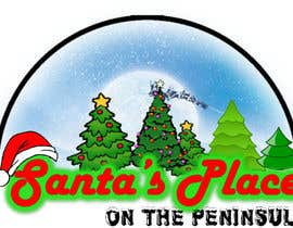 #31 para Design a Logo for  Santa's Place on the Peninsula por Drashan