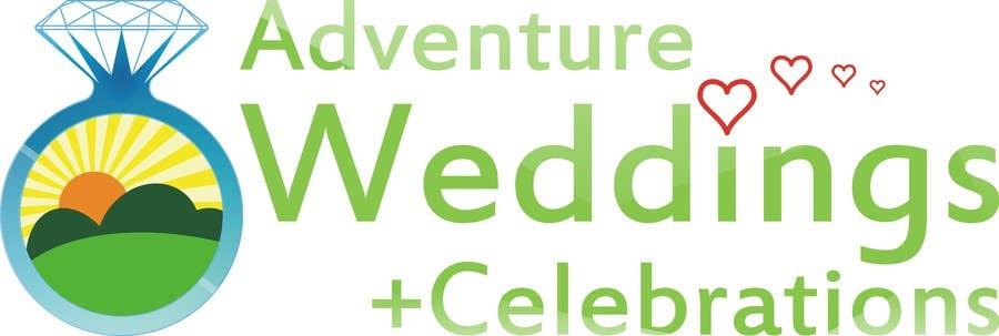 Penyertaan Peraduan #20 untuk Design a Logo for Adventure Weddings