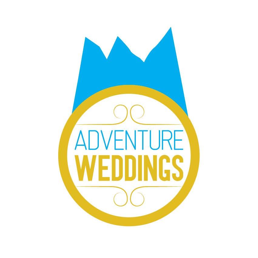 Penyertaan Peraduan #29 untuk Design a Logo for Adventure Weddings
