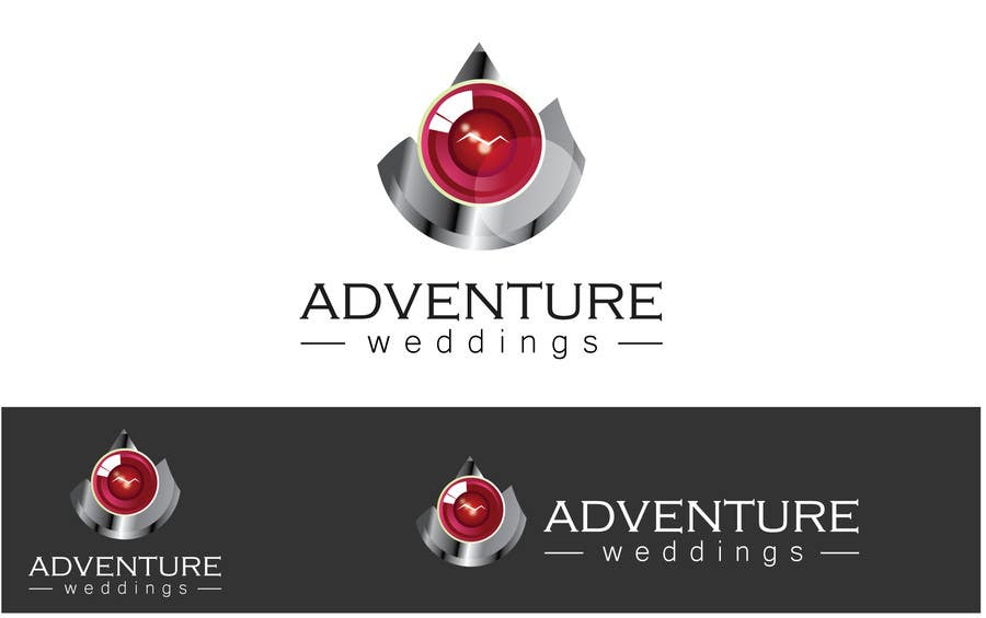 Penyertaan Peraduan #6 untuk Design a Logo for Adventure Weddings