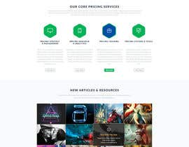 #21 untuk Design a Wordpress Mockup for website oleh hoang8xpts