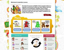 #6 for Design a Website Mockup for Pre-school center website af mahiweb123