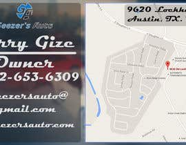 #24 para Design some Business Cards for Auto Repair Shop por Fox1Designer