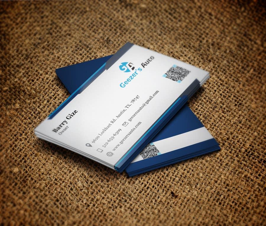 Inscrição nº 26 do Concurso para Design some Business Cards for Auto Repair Shop
