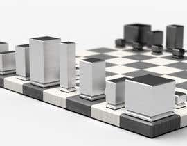#25 untuk Photo Realistic 3D Rendering of a minimalistic chess board on top of a surface. oleh mekhack