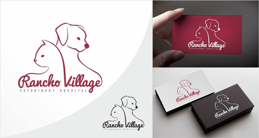 Konkurrenceindlæg #58 for Design a Logo for Rancho Village Veterinary Hospital