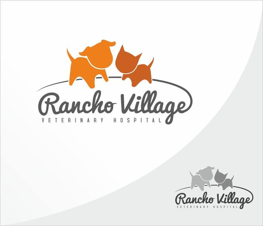 Konkurrenceindlæg #60 for Design a Logo for Rancho Village Veterinary Hospital