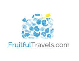 #81 for Design a Logo for my Blog FruitfulTravels.com by DotWalker