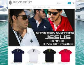 #12 cho Design a Banner for www.reverent.us bởi dezigningking