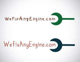 #7 para Design a Logo for wefixanyengine.com por Prashanth936