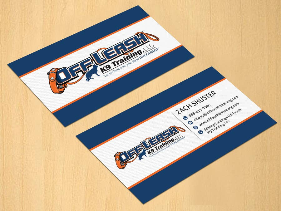 Entry 17 by dinesh0805 for dog trainer business card freelancer dog trainer business card colourmoves