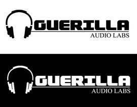 Nro 36 kilpailuun Design a Logo for Guerrilla Audio Labs käyttäjältä xcezarrosas12