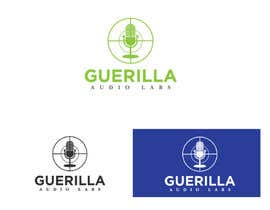 Nro 26 kilpailuun Design a Logo for Guerrilla Audio Labs käyttäjältä zaldslim