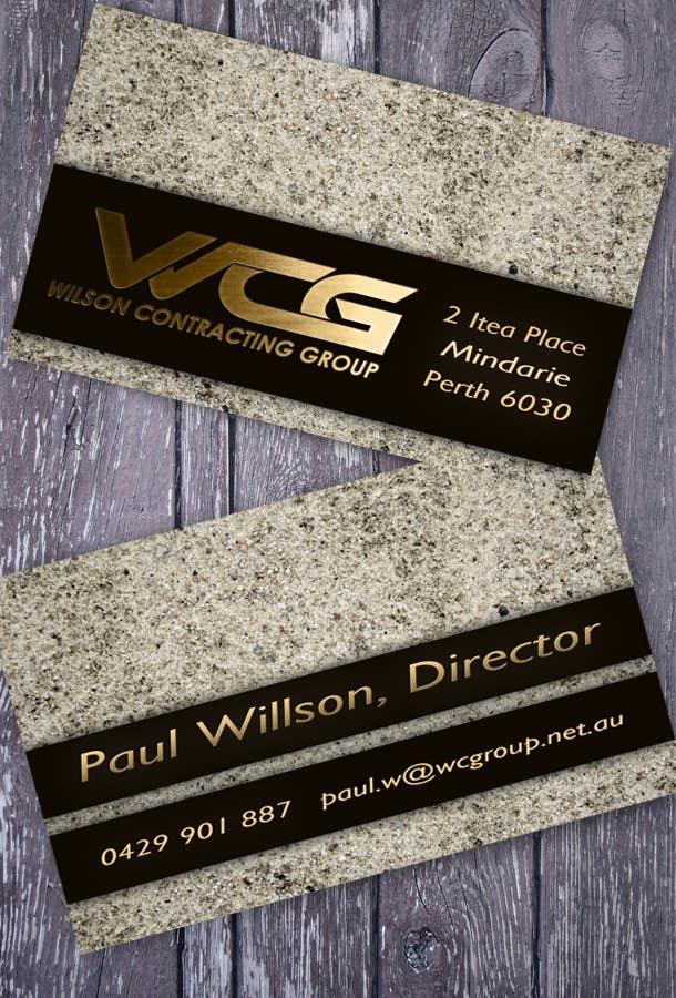 Kilpailutyö #107 kilpailussa Design some Business Cards for WCG