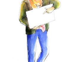 #8 untuk need a sketch of a cool guy, dressed casual oleh leenakrapiva